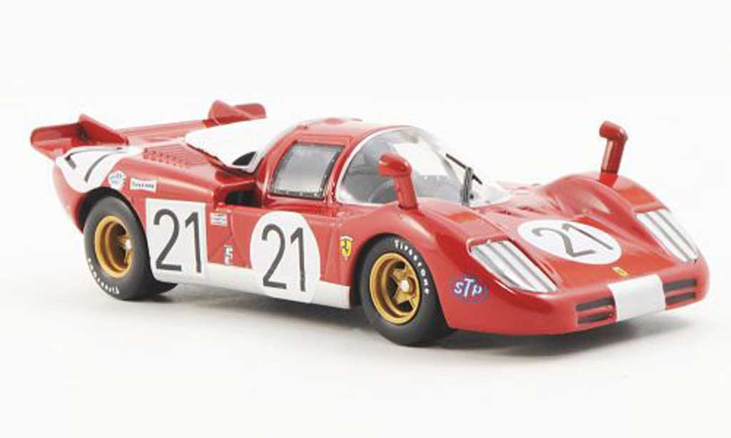 Ferrari 512 S 1/43 Ferrari Racing Collection 12h Sebring N.Vaccarella / I.Giunti / M.Andretti 1970 miniature