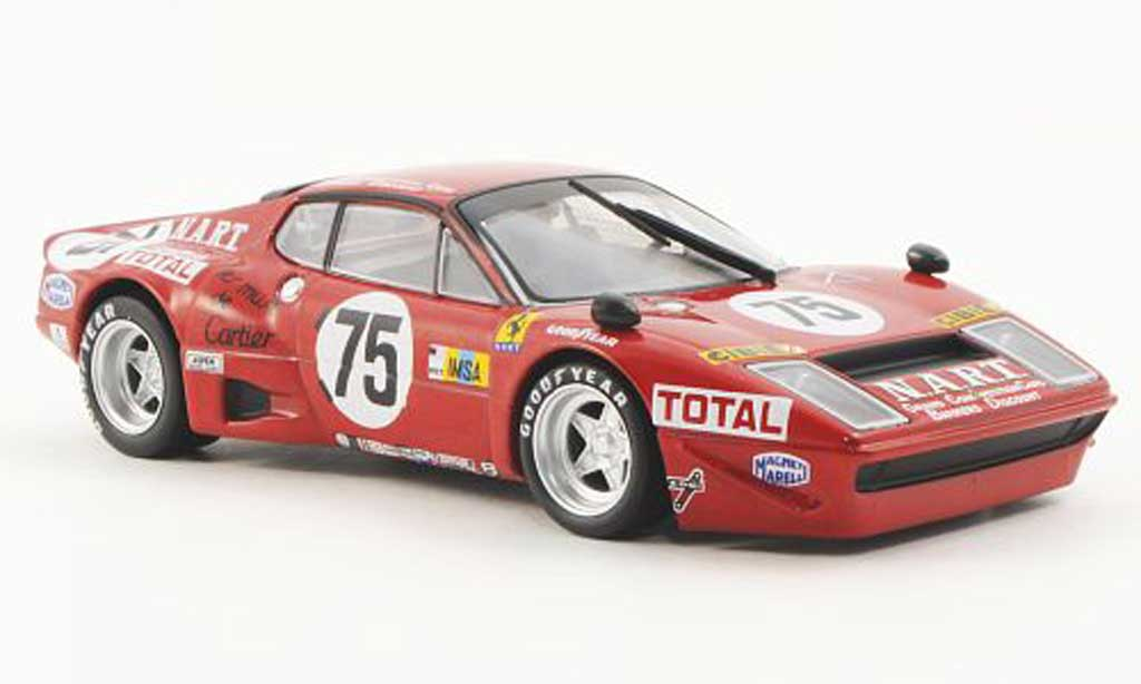 Ferrari 365 GT4/BB 1/43 Ferrari Racing Collection Le Mans FMigault / L.Guitteny 1977 modellautos