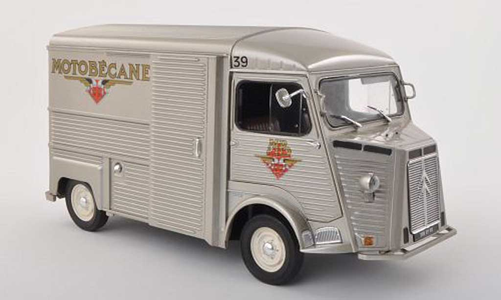 Citroen HY 1/18 Solido Motobecane 1969 diecast model cars