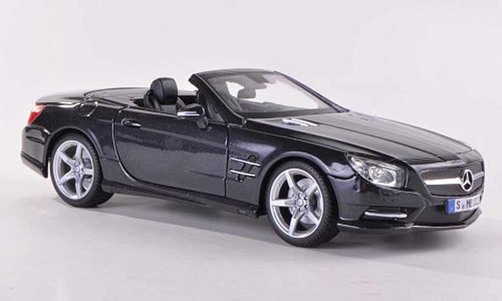 Mercedes Classe SL 500 1/18 Maisto 500 (R231) anthrazit 2012 miniature