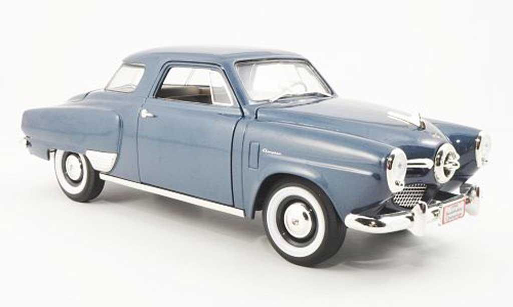 Studebaker Champion 1/18 Yat Ming bleu 1950 miniature