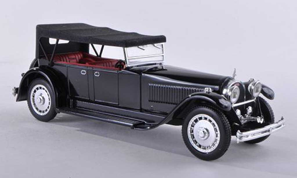 Bugatti 41 1/43 Rio royal Torpedo noire ferme 1927 miniature