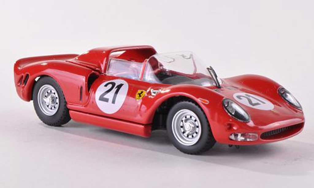 Ferrari 330 P2 1/43 Best No.21 Testfahrzeug 24h Le Mans 1965 Vaccarella/Surtees/Bandini/Parkes