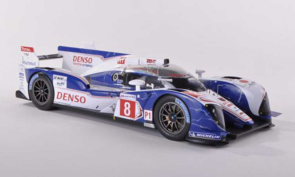 Toyota TS030 1/43 Spark hybride No.8 Dense 24h Le Mans 2012 S.Buemi/A.Davidson/S.Sarrazin miniature