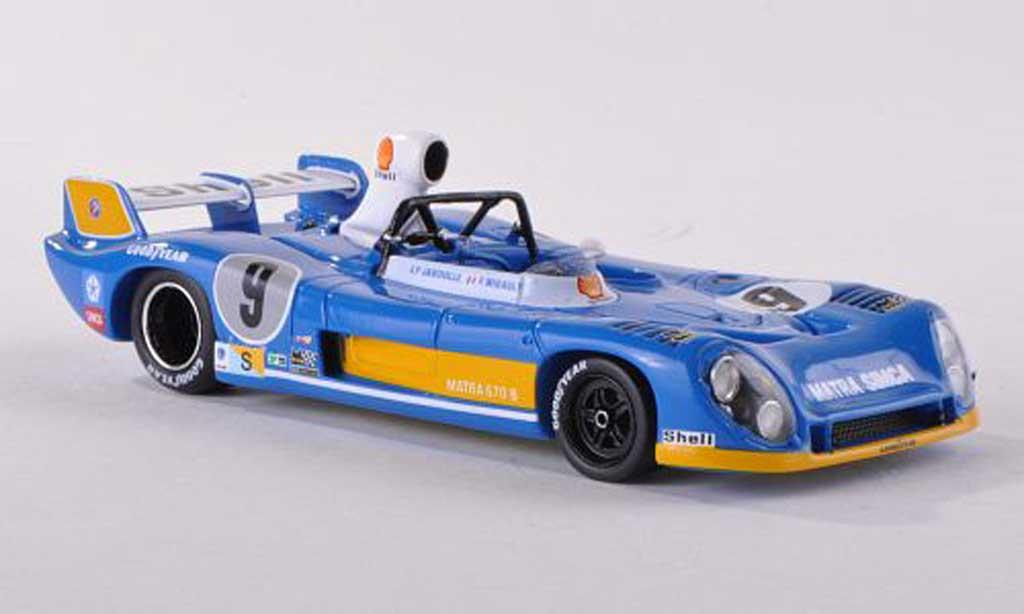 Matra MS670B 1/43 Spark No.9 24h Le Mans 1974 J.P.Jabouille/F.Migault miniature