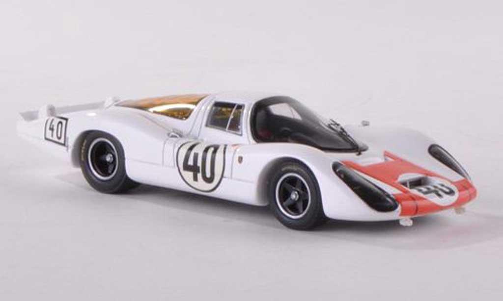 Porsche 907 1967 1/43 Spark No.40 24h Le Mans G.Mitter/J.Rindt