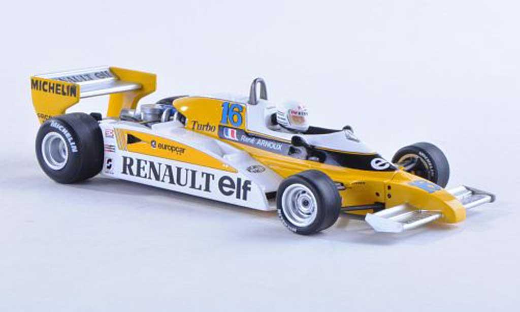 Renault F1 1981 1/43 Spark 1981 RE20 B No.16 GP Argentine R.Arnoux miniature