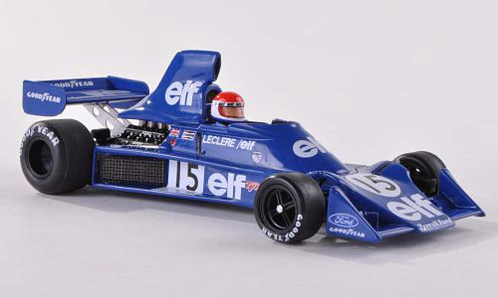 Tyrrell 007 1/43 Spark No.15 M.Leclere GP USA 1975 diecast model cars