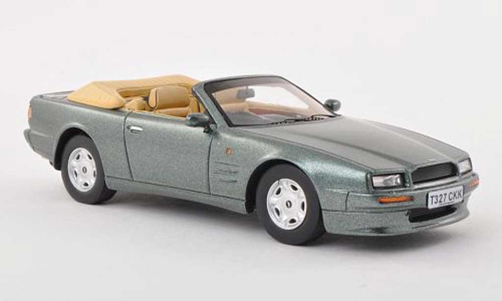 Aston Martin Virage 1/43 Spark Volante gris-vert RHD 1991 diecast model cars