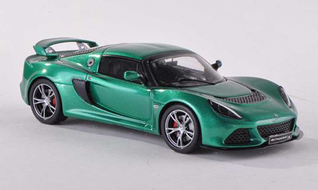 Lotus Exige 1/43 Spark S clair-vert 2012 diecast model cars