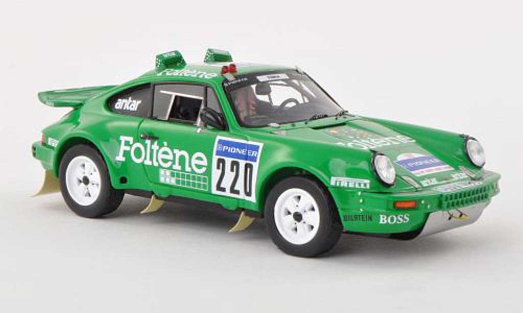 Porsche 930 1/43 Spark No.220 Rally Dakar 1988 J.Laffite diecast model cars