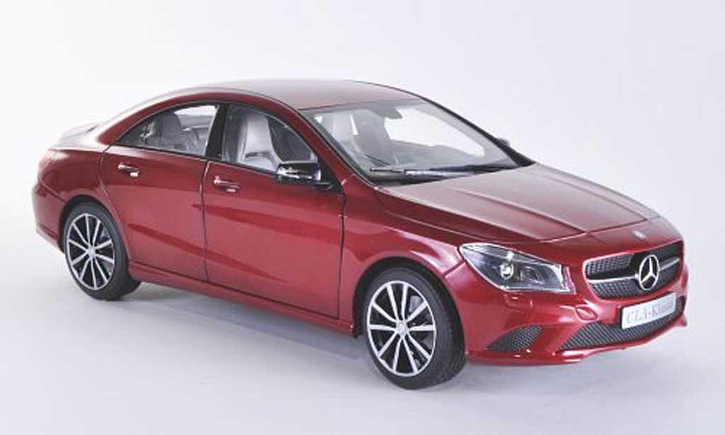 Mercedes CLA 1/18 Norev (C117) rouge 2013 miniature