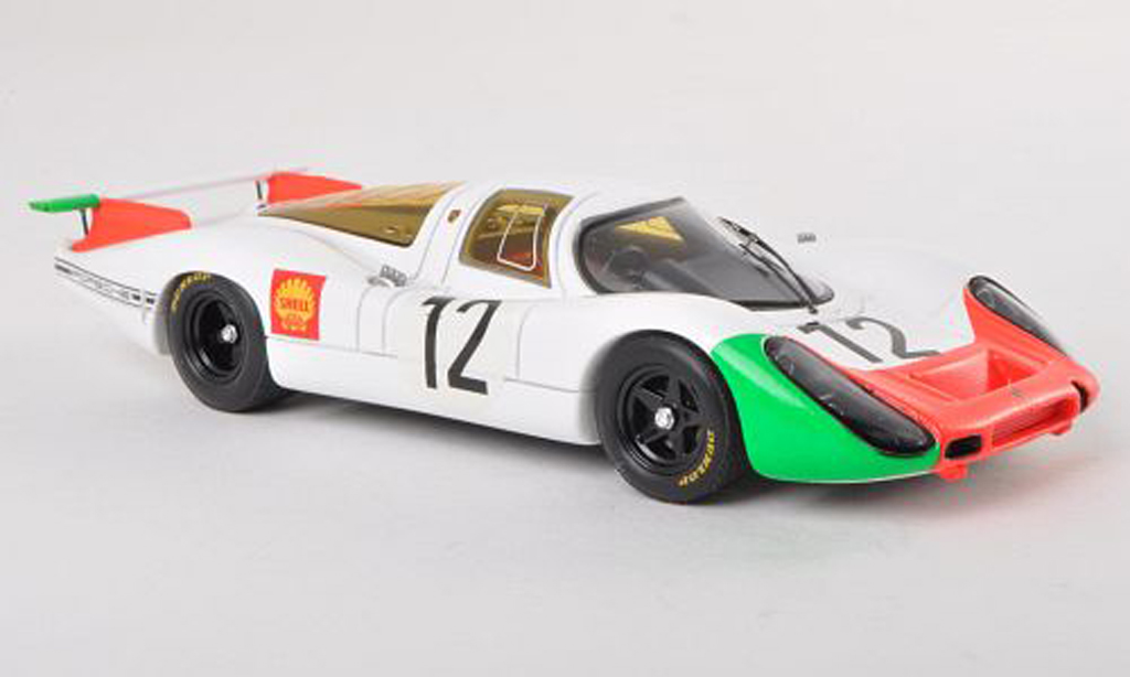 Porsche 908 1968 1/43 Spark No.12 1000km Paris H.Herrmann/R.Stommelen miniature
