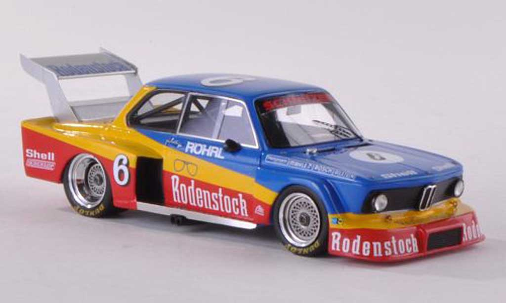 Bmw 2002 Turbo 1/18 Spark Gr.5 No.6 Rodenstock DRM Norisring 1977 W.Rohrl modellino in miniatura