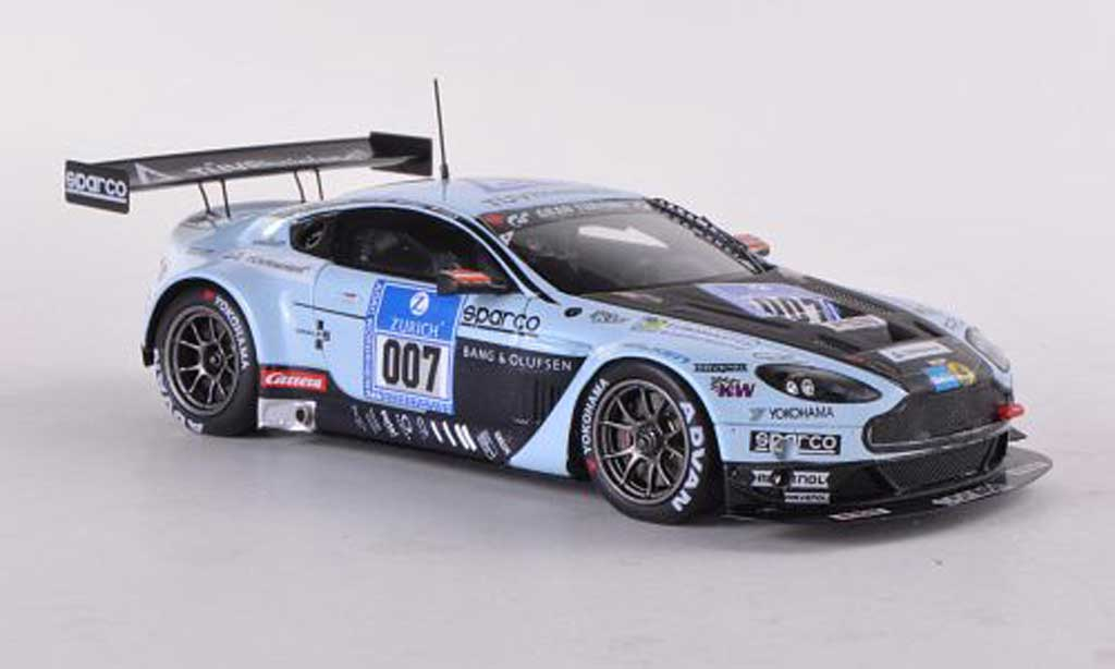 Aston Martin AMR Vantage GT3 1/43 Spark GT3 No.007 24h Nurburgring 2012 D.Rostek/D.Turner/J.Stuck/F.Stuck