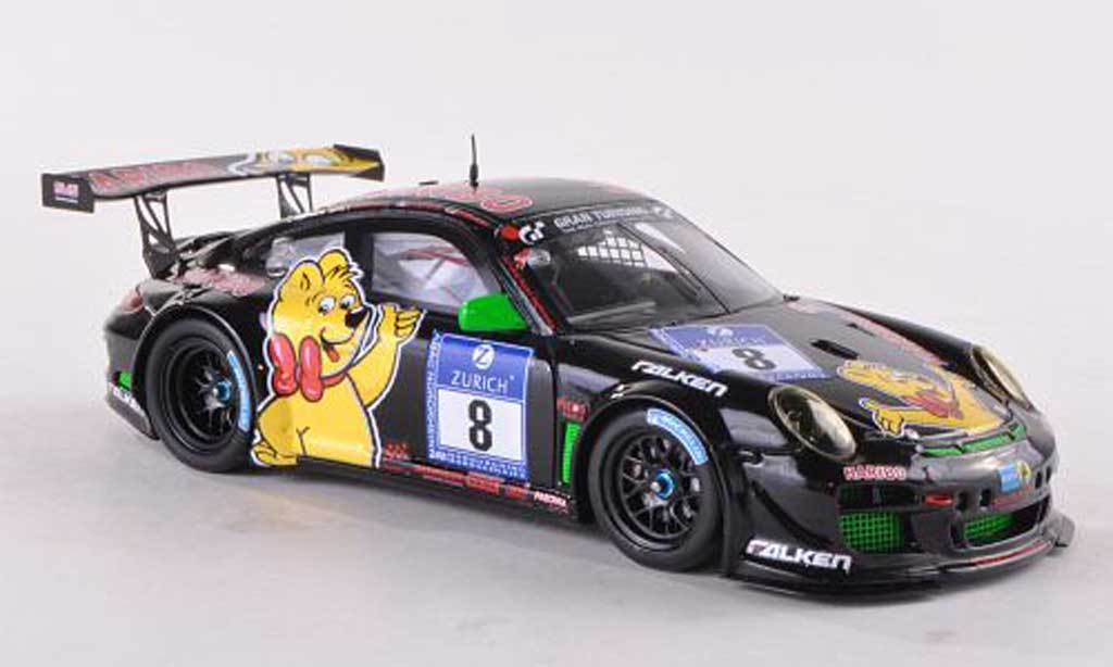Porsche 997 GT3 1/43 Spark R 2012 No.8 Haribo Bale Motorsport 24h Nurburgring diecast model cars