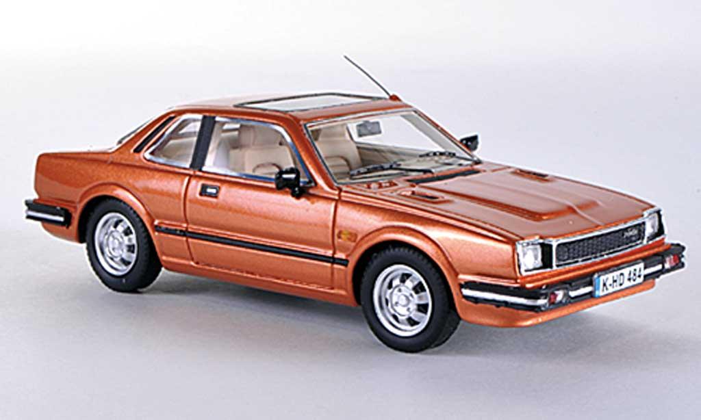 Honda Prelude 1981 1/43 Neo MKI marron miniature
