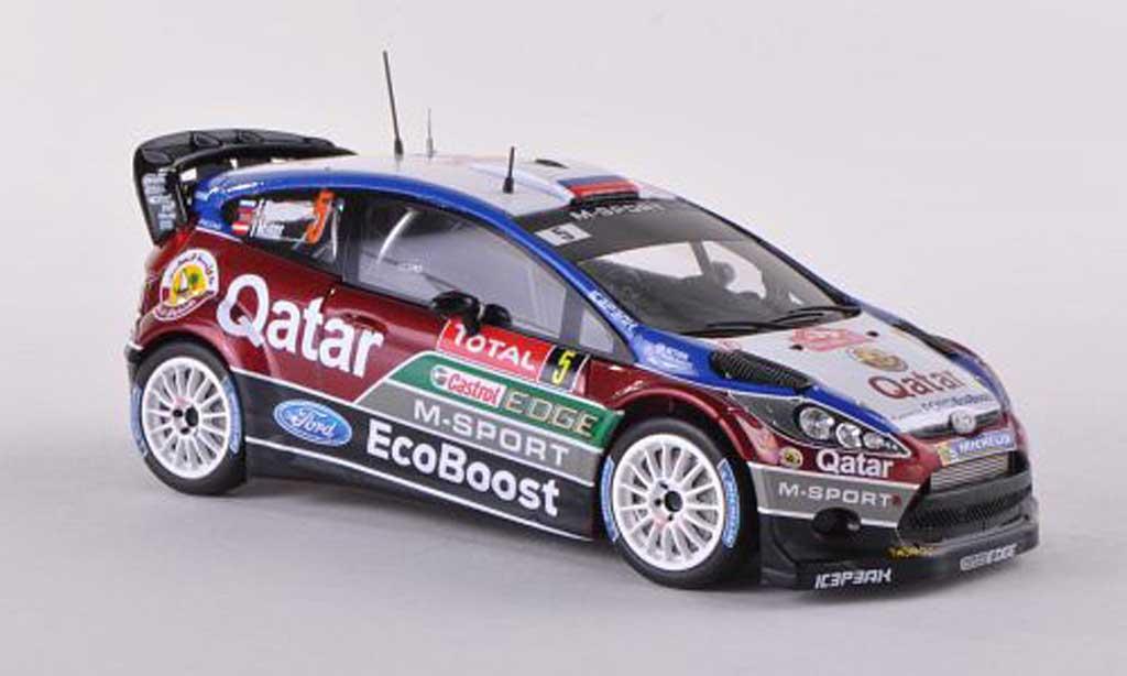 Ford Fiesta WRC 1/43 Spark No.5 Qatar Rally Monte Carlo 2013 E.Novikov/I.Minor miniature