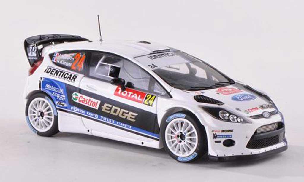 Ford Fiesta WRC 1/43 Spark No.24 Identicar Rally Monte Carlo 2013 J.Maurin/N.Klinger miniature