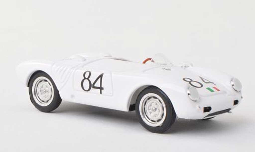 Porsche 550 1956 1/43 Brumm A  Spyder No.84 Targa Florio  U.Maglioli miniature