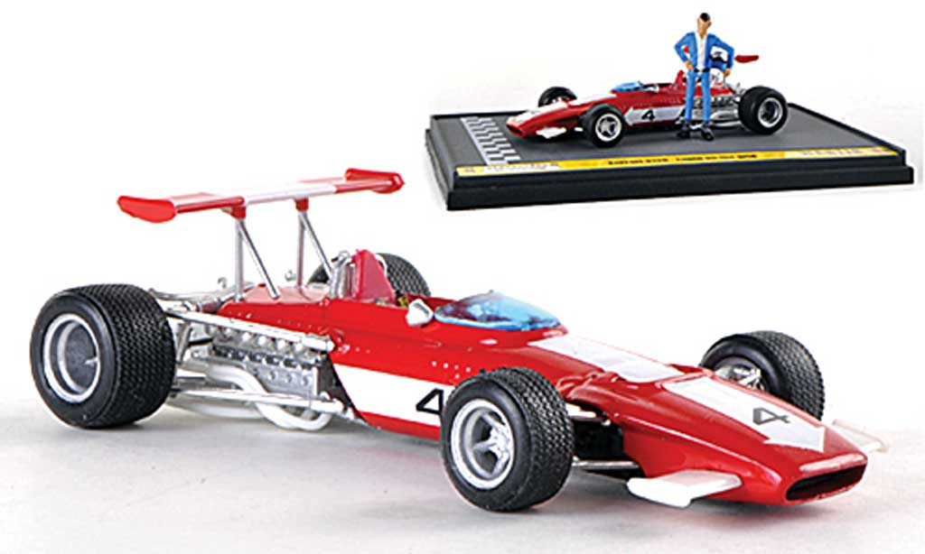 Ferrari 312 B 1/43 Brumm No.4 Lupin on the grid  1970 miniature