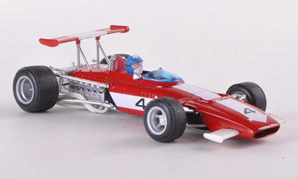 Ferrari 312 B 1/43 Brumm No.4 Lupin race start 1970 modellino in miniatura