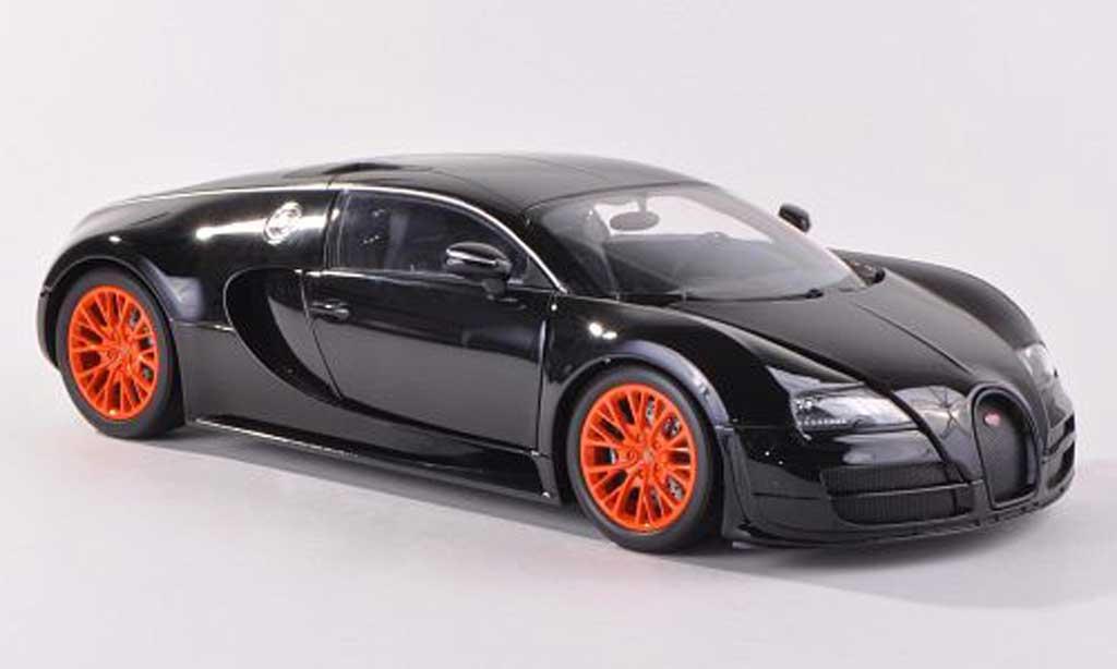 Bugatti Veyron Super Sport 1/18 Minichamps black 2011 diecast model cars