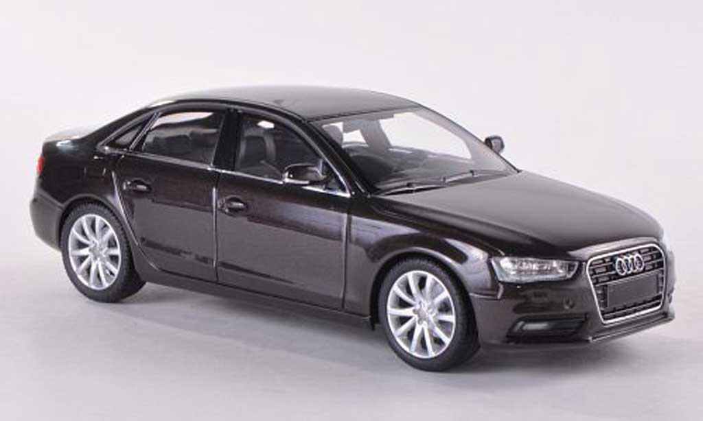 Audi A4 1/43 Minichamps marron  2011 miniature
