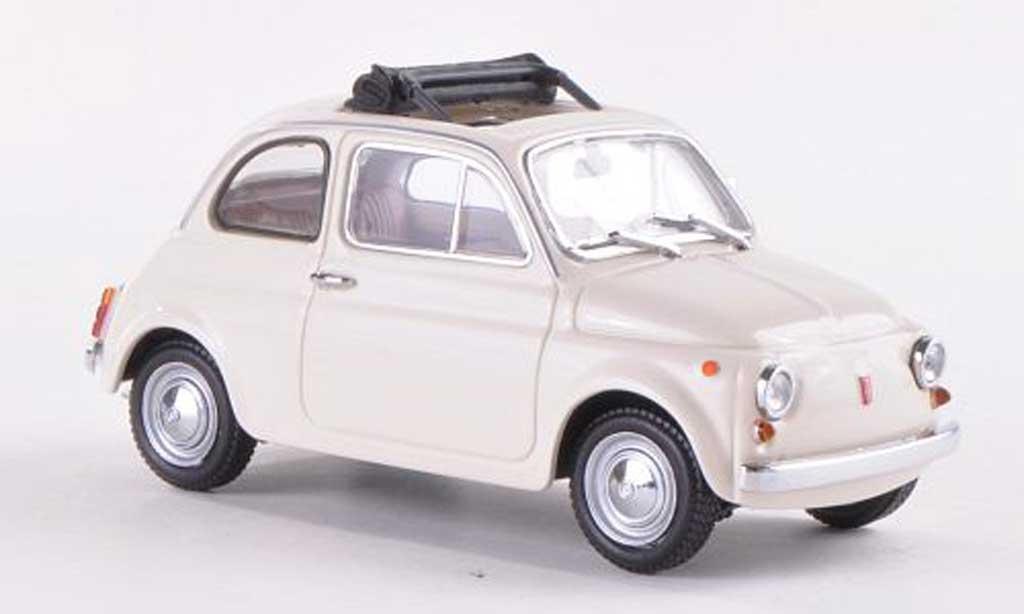 Fiat 500 1/43 Minichamps white 1965 diecast model cars