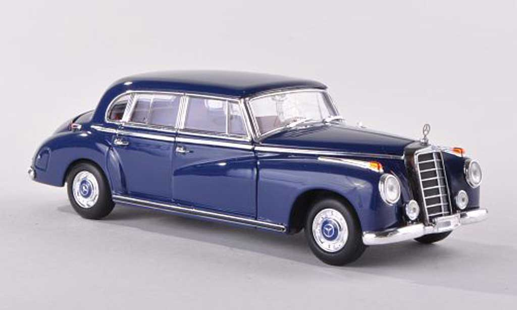 Mercedes 300 B 1/43 Minichamps (W186 III) black-bleu  1955 diecast