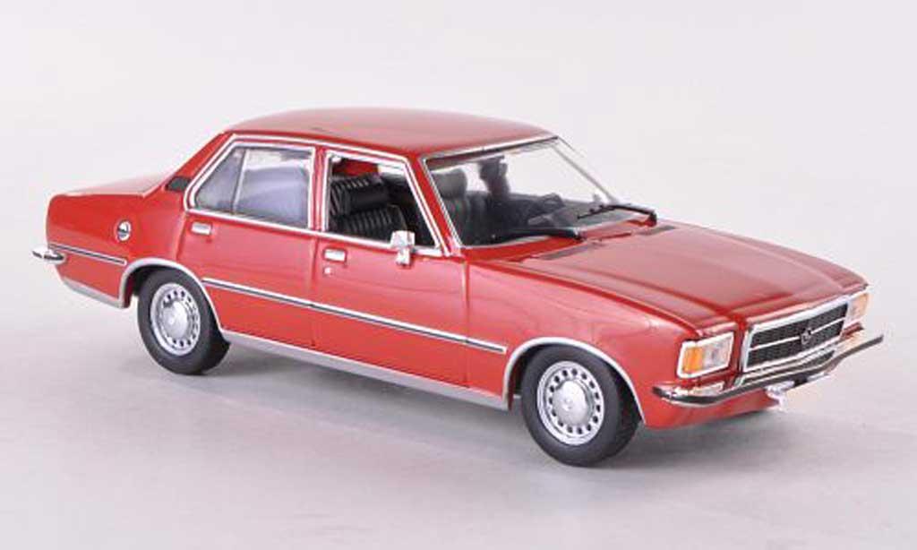 Opel Rekord 1/43 Minichamps D rouge 1975 miniature