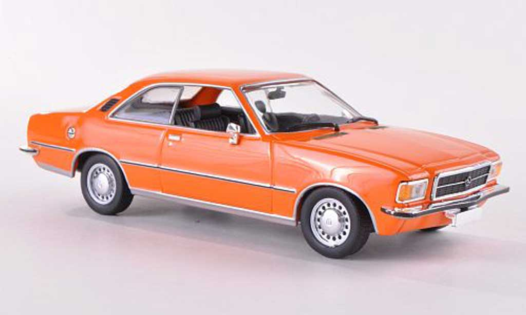 Opel Rekord 1/43 Minichamps D Coupe orange  1975 miniature