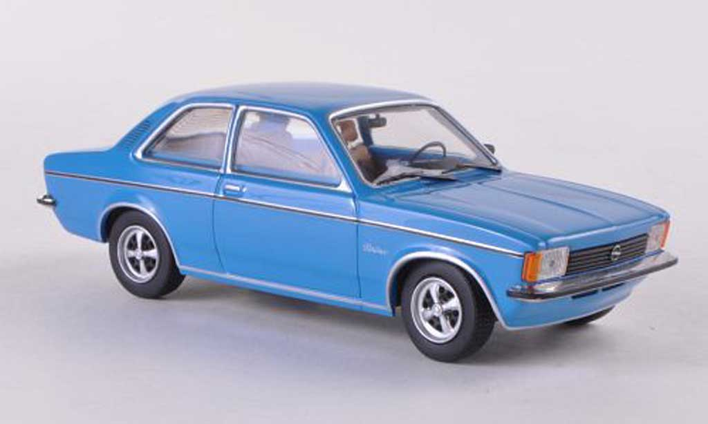 Opel Kadett 1/43 Minichamps C Berlina Limousine bleue 2-Turer 1978