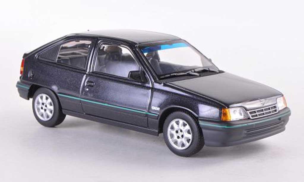 Opel Kadett 1/43 Minichamps E Dream black 1989 diecast model cars