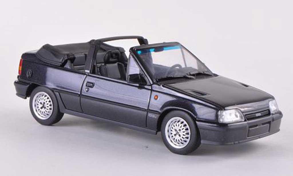Opel Kadett GSI 1/43 Minichamps Cabriolet  noire 1989 miniature