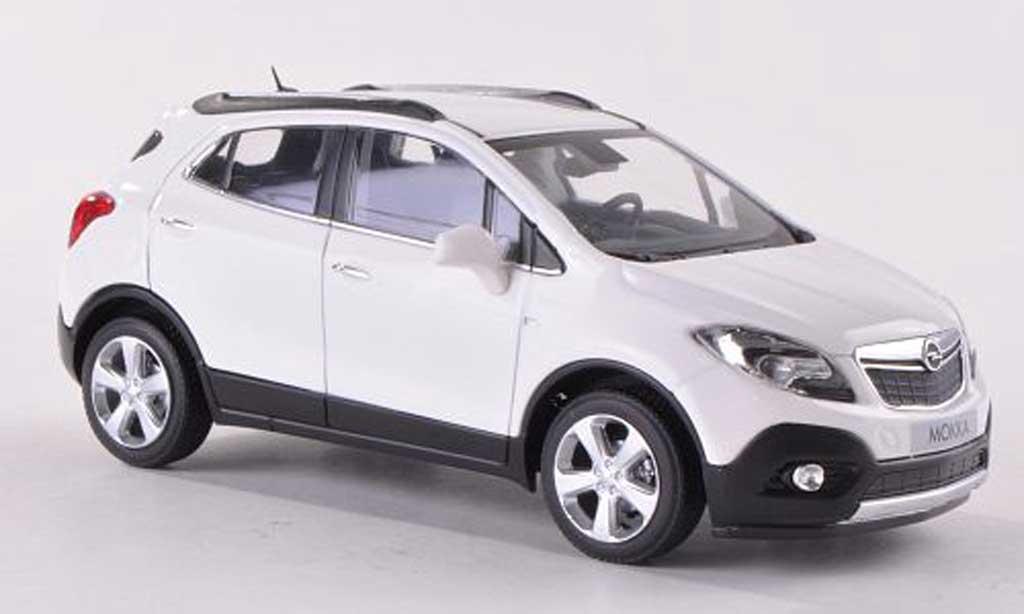 Opel Mokka 1/43 Minichamps blanche  2012