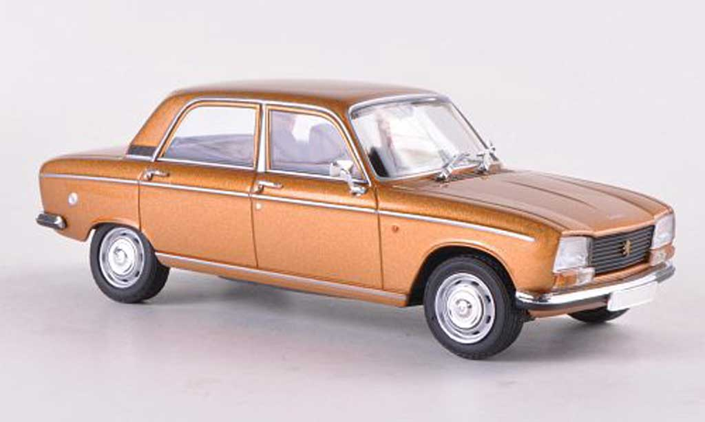 Peugeot 304 Berline 1/43 Minichamps gold  1972 miniature