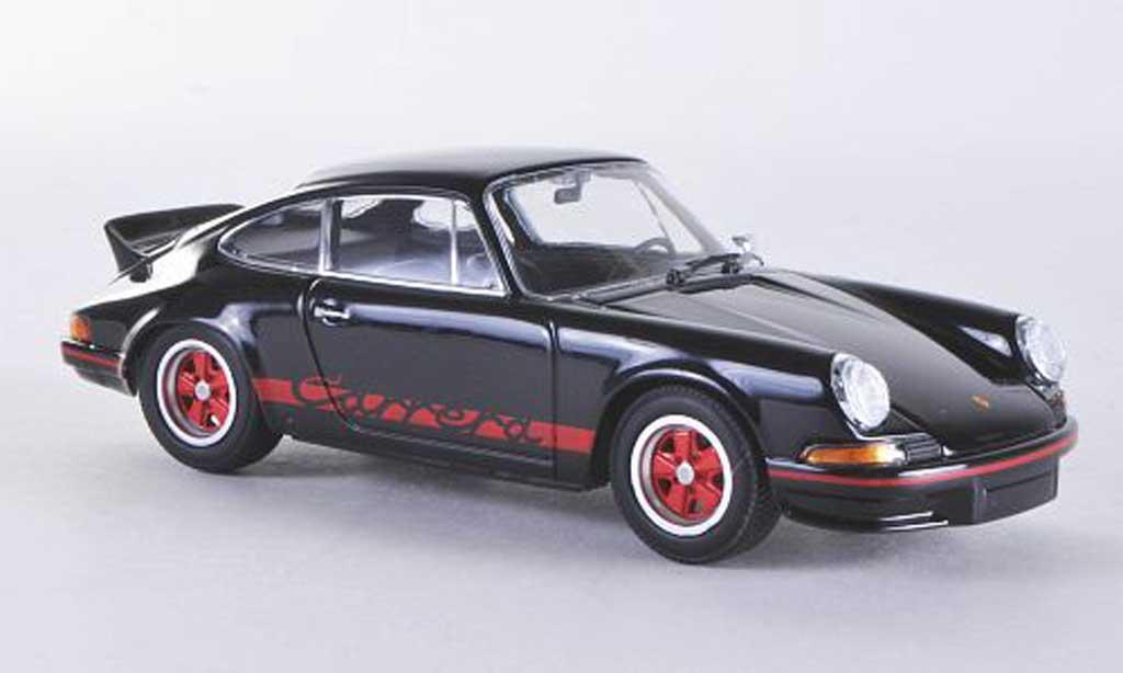 Porsche 911 RS 1/43 Minichamps Carrera 2.7 noire mit rougeen Streifen und Felgen 1972porsche_911  porsche_911_rs miniature