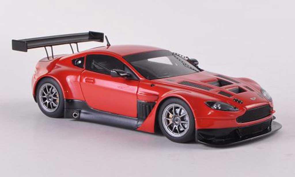 Aston Martin V12 GT3 1/43 Minichamps Vantage rouge Plain Body Version 2012 miniature