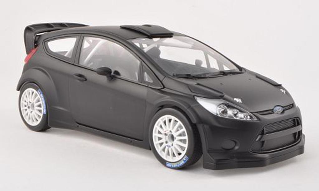 Ford Fiesta WRC 1/18 Minichamps noire Plain Body Version 2011 miniature