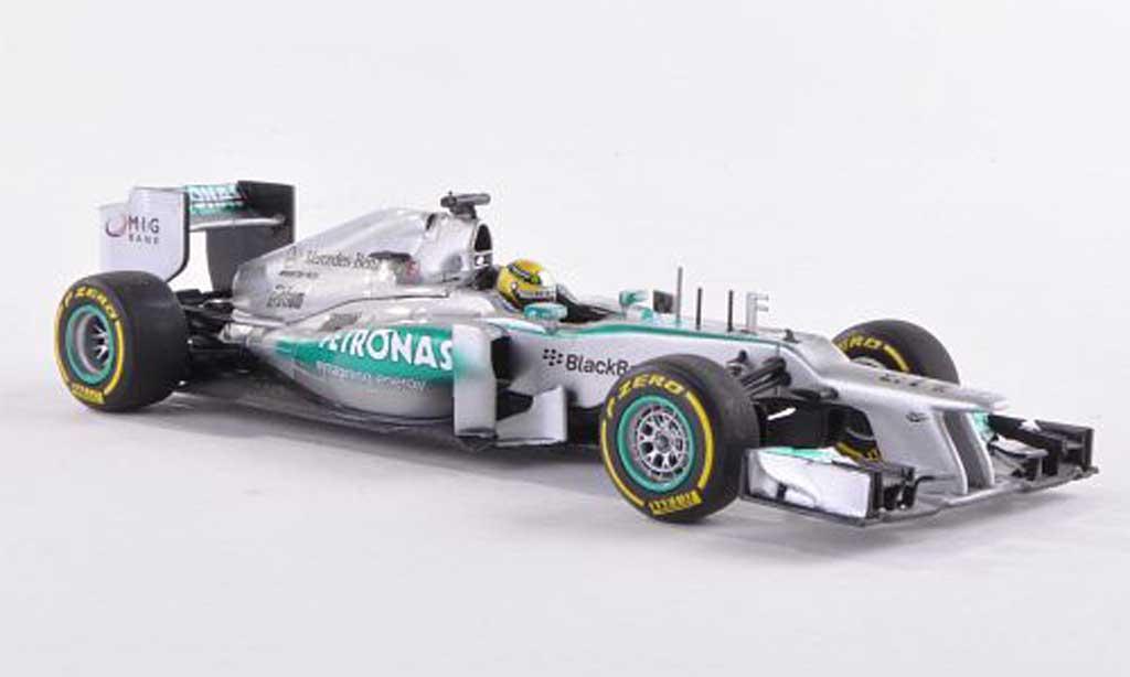 Mercedes F1 1/43 Minichamps AMG Team No.9 Petronas N.Rosberg Showcar 2013 miniature