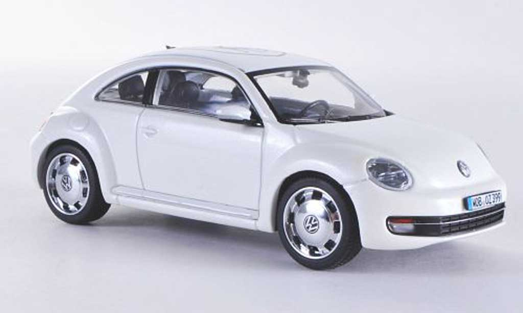Volkswagen Beetle 1/43 Schuco blanche Wolfsburg 2011 miniature