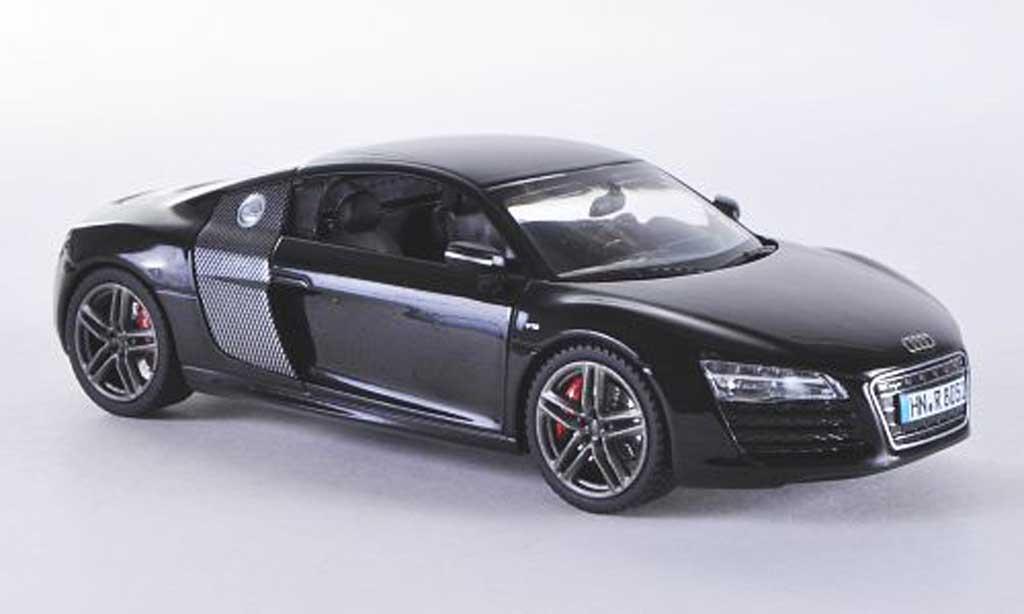 Audi R8 1/43 Schuco noire/carbon 2012 miniature