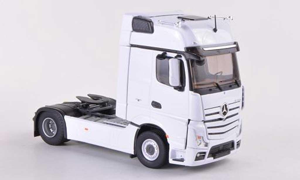 Mercedes Actros 1/43 Eligor MP4 Gigaspace white Solo-Zugmaschine  diecast