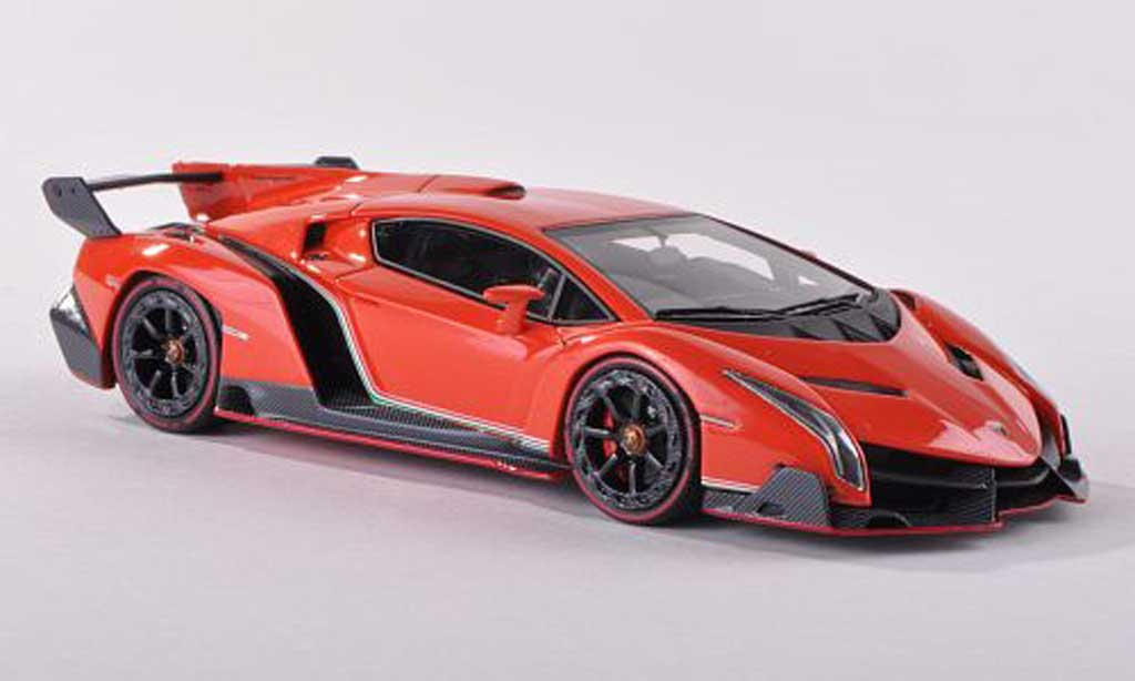 Lamborghini Veneno 1/18 Look Smart black-l Autosalon Geneve 2013 diecast model cars
