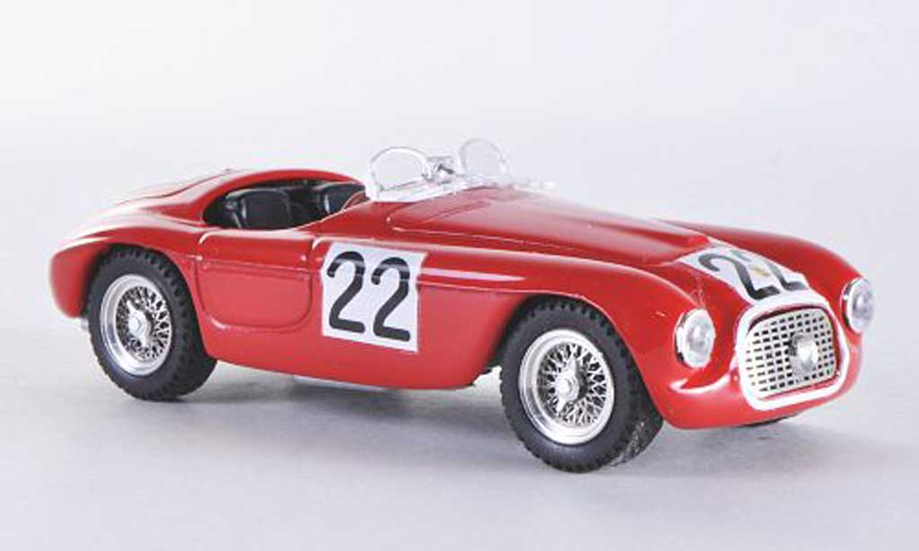 Ferrari 166 1949 1/43 Art Model Spider MM Le Mans No.22 Chinetti/Seldson miniature