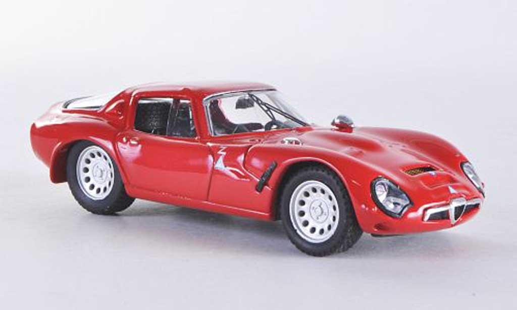 Alfa Romeo TZ2 1/43 Best rouge 1965 miniature