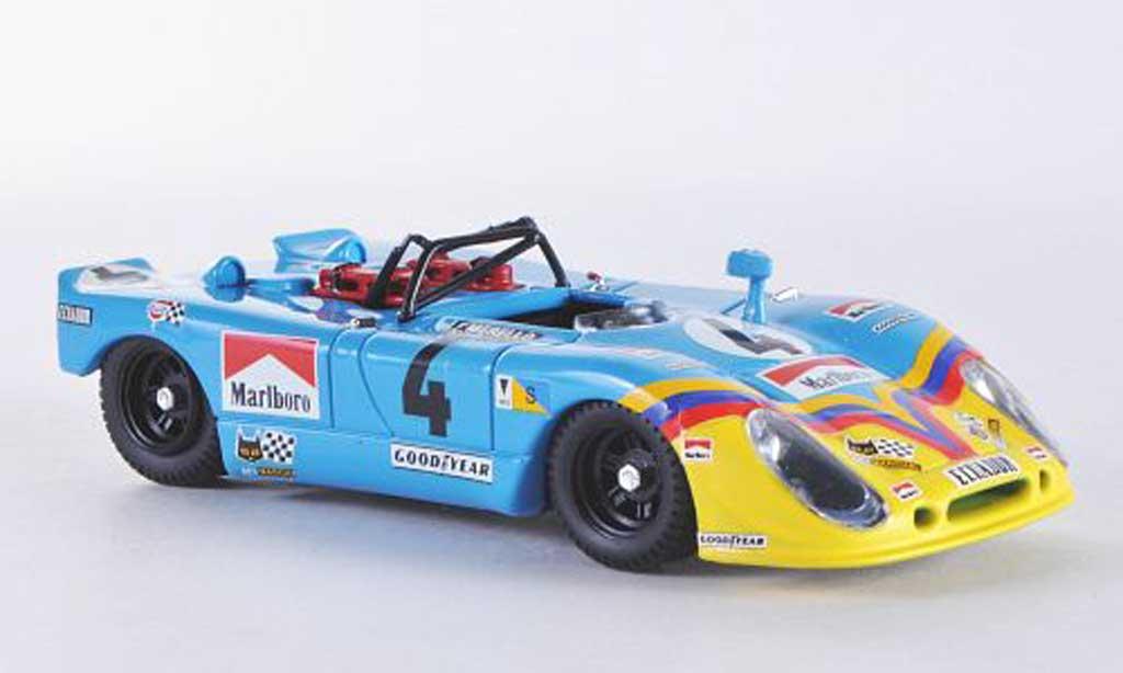 Porsche Flunder 1/43 Best Le Mans No.4 1973 Ortega/Merello miniature