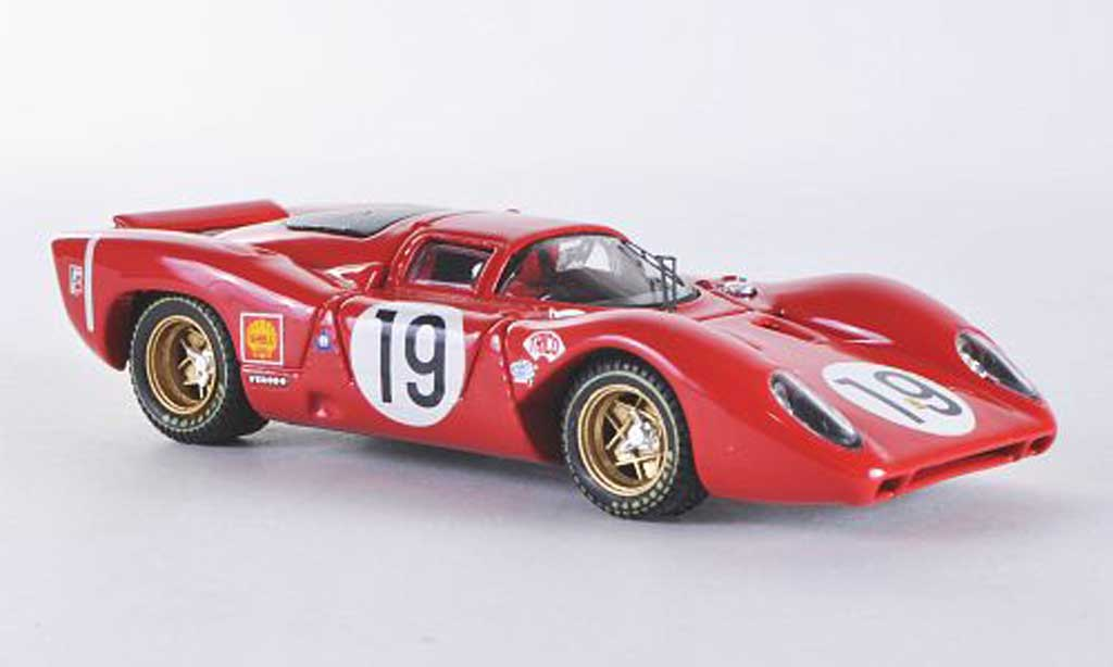 Ferrari 312 P 1/43 Best Le Mans No.19 1969 Amon/Schetty miniature