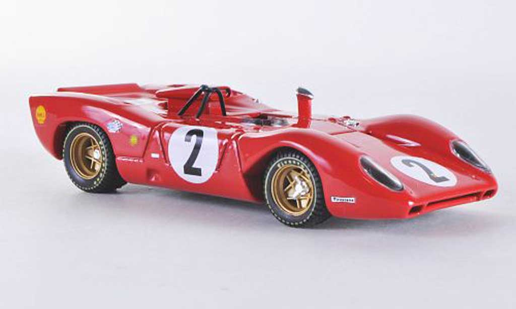 Ferrari 312 P 1/43 Best Spider Monza No.2 1969 Rodriguez/Schetty miniature